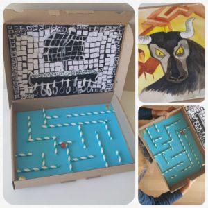 Atelier « Dans le labyrinthe du Minotaure » à partir de 5 ans