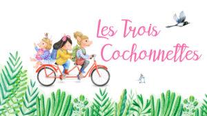Dédicace de Les Trois Cochonnettes de Catherine Vincent