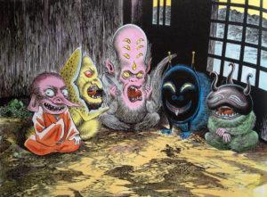 Halloween avec les Yokaïs (stage arts plastiques et BD pour les 7-12 ans)