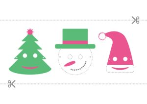 Atelier masque de Noël (invente ton drôle de personnage, dès 6 ans)
