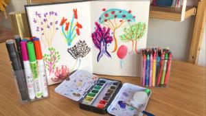 Atelier du journal créatif (6-12 ans)